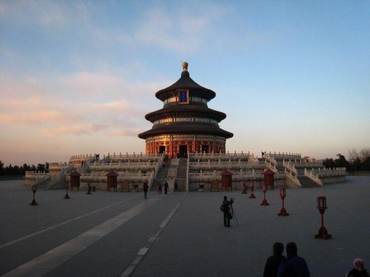 O Templo do Céu, em Pequim. Imagem: Wikimedia Commons.
