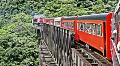 11 passeios de trem para fazer no Brasil e curtir lindas paisagens