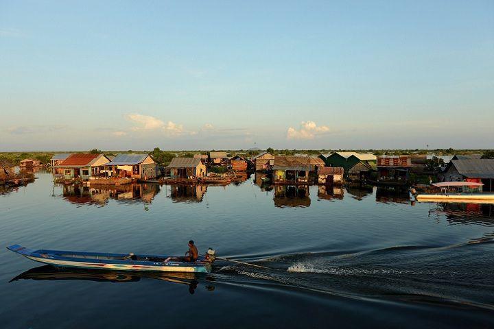 Lago Sap Camboja