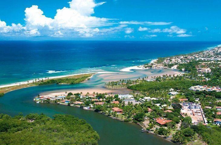 Litoral na Bahia