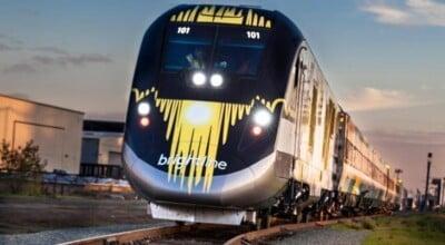 Trem que vai ligar Miami a Orlando começa fase de testes