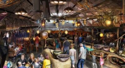 Restaurante do Avatar na nova área do Animal Kingdom terá pedidos pelo celular