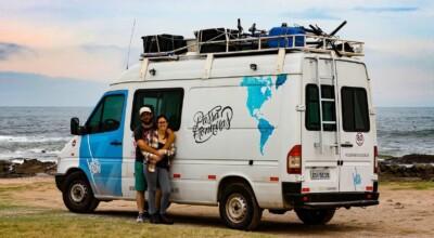 Casal de publicitários mostra que não é preciso largar tudo para viajar pelo mundo