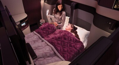 Companhia aérea lança suíte de luxo com cama de casal