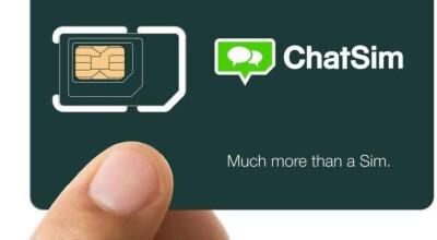 ChatSim: o chip para você enviar mensagens do exterior sem precisar de wifi