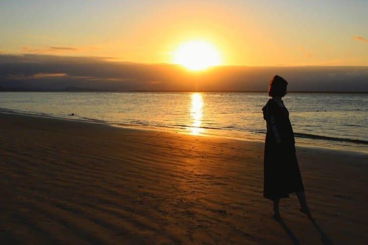 Pôr do Sol na Ilha do Cardoso