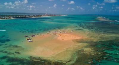 Areia Vermelha: conheça essa ilha em meio ao litoral paraibano