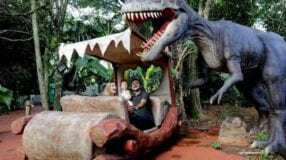 Vale dos Dinossauros em Olímpia: uma aventura única em SP