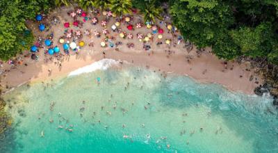 Praia do Éden: muita natureza e um cenário paradisíaco no Guarujá