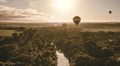 Boituva: balonismo e paraquedismo para aproveitar no interior de SP